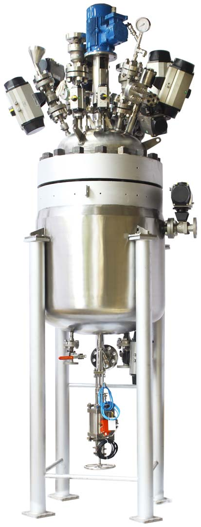 250 ltr 100 bar Reactor with Automated Valves