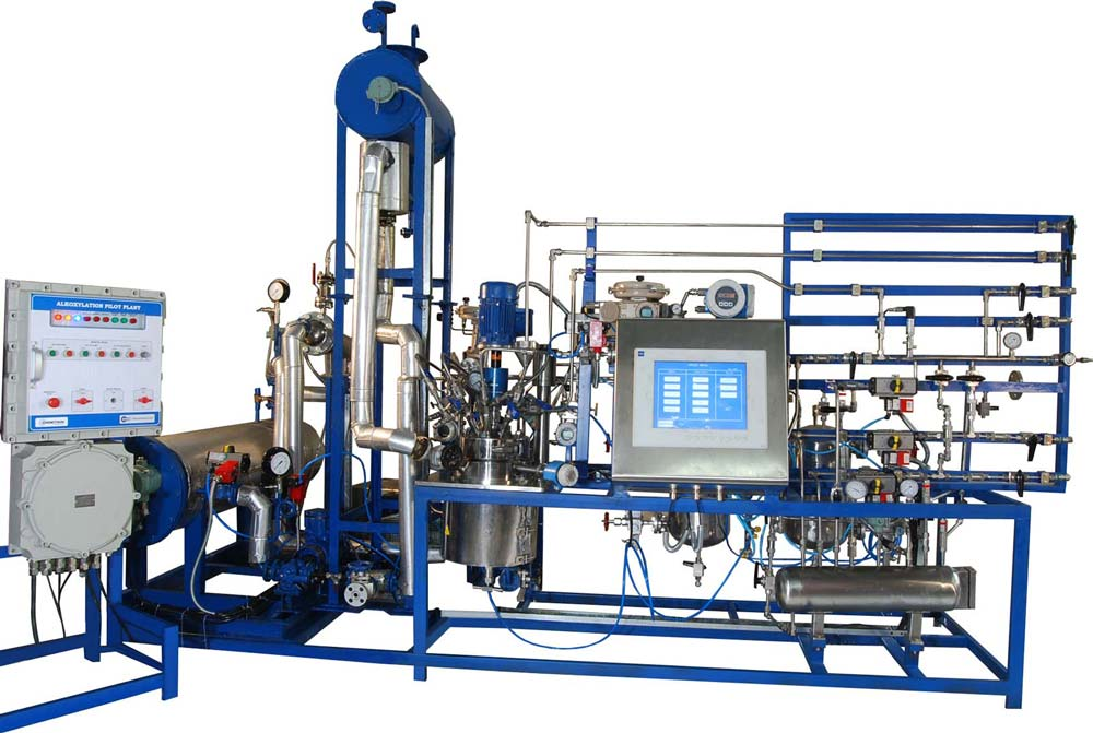 10 ltr fully automated ex-proof alkoxylation pilot plant