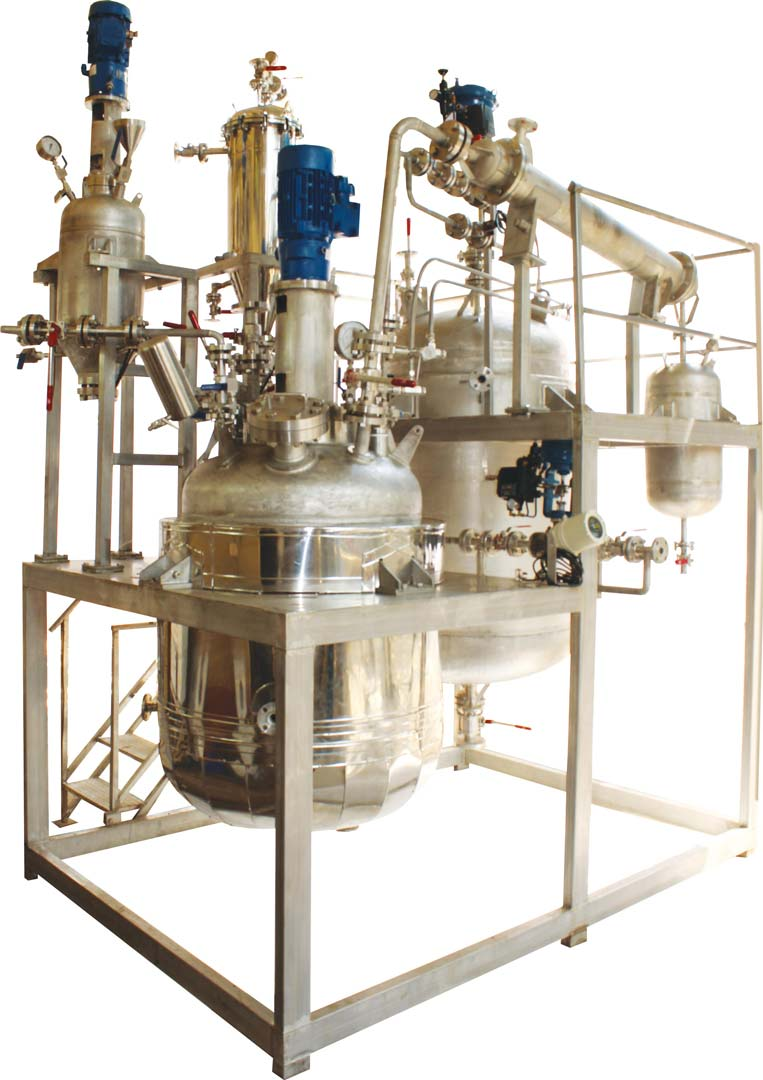 500 Ltr hydrogenation pilot plant with catalyst filter & recycle
